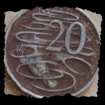 コイン表面の3Dモデリング