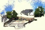 ドローンによる空撮画像からの地形3D計測