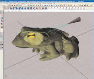 MicroScribeでリアルタイム照明
