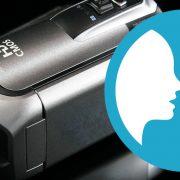 ビデオカメラで識別して音声で伝えるイメージ画像