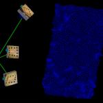 足跡を3D計測
