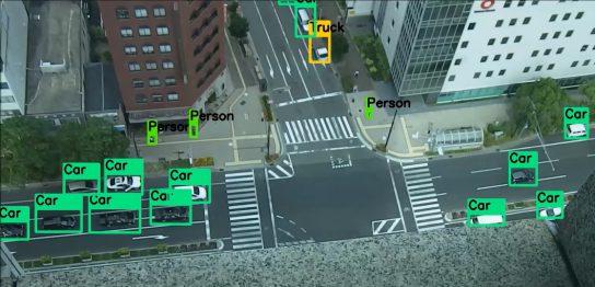 写真計測ソフトを使った車の動体解析
