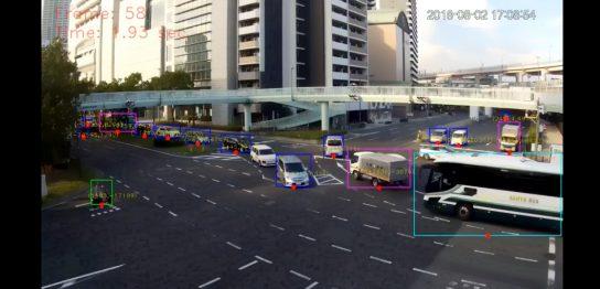 写真計測ソフトを使った交通量・交通状況調査