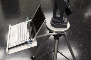MicroScribe用ノートPC用トレイ
