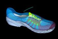 靴の細部を修正